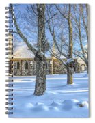 Stone Church At Cragsmoor Spiral Notebook
