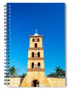 Stone Church Bell Tower Spiral Notebook