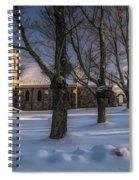 Stone Church In Oil Spiral Notebook