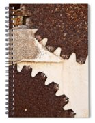 Stone Eater In Lime Stone Quarry - Lithica Spiral Notebook