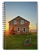 Stone House Sunrise Spiral Notebook