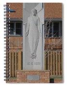 Stone Jesus Spiral Notebook