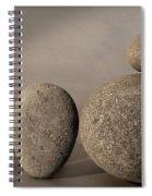 Stone Light Spiral Notebook