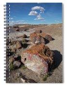 Stone Log Smoke Signals Spiral Notebook