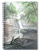 Stone Mountain Falls - The Upper Cascade Spiral Notebook