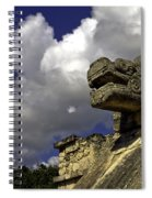 Stone Sky And Clouds Spiral Notebook