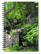 Stone Stairway Along The Wissahickon Creek Spiral Notebook