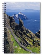 Stone Stairway, Skellig Michael Spiral Notebook