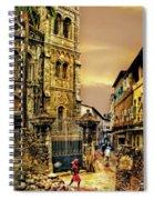 Stone Town, Zanzibar Spiral Notebook