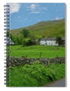 Stone Wall Lake District - P4a16012 Spiral Notebook