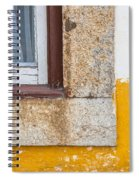 Stone Window Of Portugal Spiral Notebook