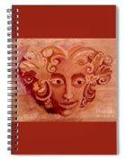 Stone Woman Spiral Notebook