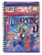Stonebraker At Quixotes True Blue Spiral Notebook