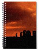 Stonehenge Impasto 2 Spiral Notebook