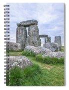 Stonehenge In England Spiral Notebook