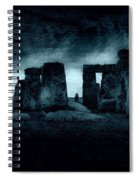 Stonehenge Mood Spiral Notebook