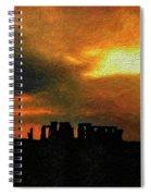 Stonehenge Spiral Notebook