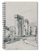 Stonehenge Wiltshire Spiral Notebook