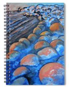 Stones By The Sea Spiral Notebook