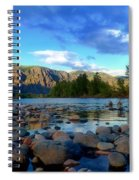 Stones By The Similkameen Spiral Notebook