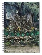 Stones To Decorate A Tree Spiral Notebook