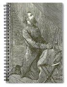 Stonewall Jackson Praying Before The Battle Spiral Notebook