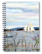 Stonington Harbor, Maine Spiral Notebook