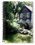 Stony Brook Gristmill And Museum Spiral Notebook