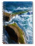Stony Shore In Costa Adeje Spiral Notebook