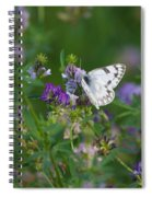 Stop And Smell The Flowers Spiral Notebook