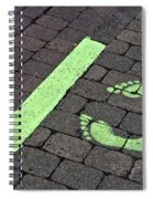 Stop Line Spiral Notebook
