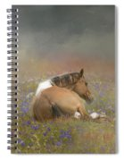 Stopping To Smell The Flowers Spiral Notebook