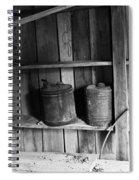 Storage Shed Spiral Notebook