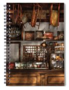 Store - Old Fashioned Super Store Spiral Notebook