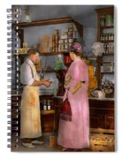 Store - In A General Store 1917 Spiral Notebook
