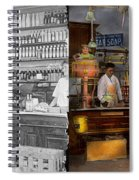 Store - In A General Store 1917 Side By Side Spiral Notebook