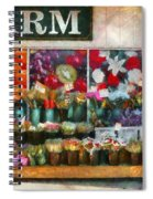 Store - Westfield Nj - The Flower Stand Spiral Notebook