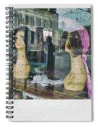Store Window Stares Spiral Notebook