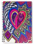 Stored Deep Inside Spiral Notebook