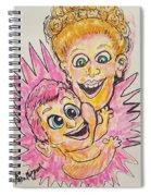Storks Spiral Notebook