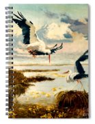 Storks II Spiral Notebook
