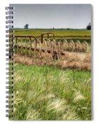 Storm Across The Prairie Spiral Notebook