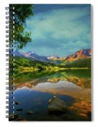 Storm At Trout Lake Spiral Notebook
