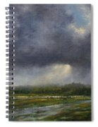 Storm Brewing Over The Refuge Spiral Notebook
