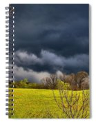 Storm Clouds 2 Spiral Notebook