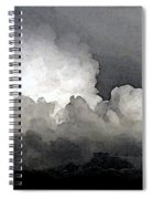 Storm Clouds Are Brewin' Spiral Notebook