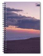 Storm Clouds At Dusk Seaside Nj Spiral Notebook
