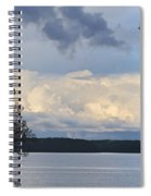 Storm Clouds Over Kentucky Lake Spiral Notebook