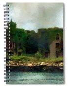 Storm Clouds Over Old New York Spiral Notebook