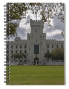 Storm Clouds Over The Citadel Spiral Notebook